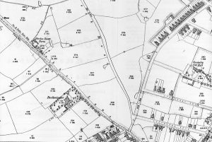 Another 1903 map showing location of site