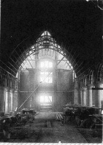Building the church3