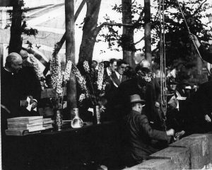 Stone laying ceremony 9th July 1925
