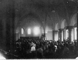 The first service